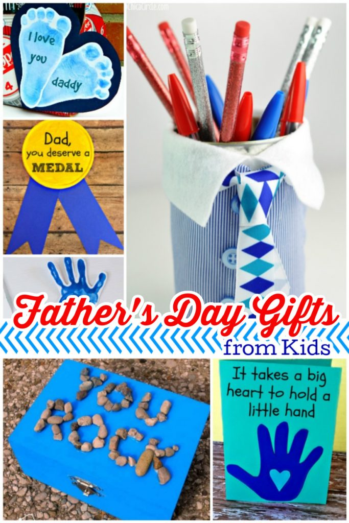 homemade fathers day crafts that kids can make