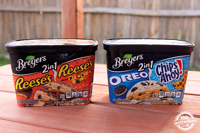 Breyers 2 in 1 Tubs