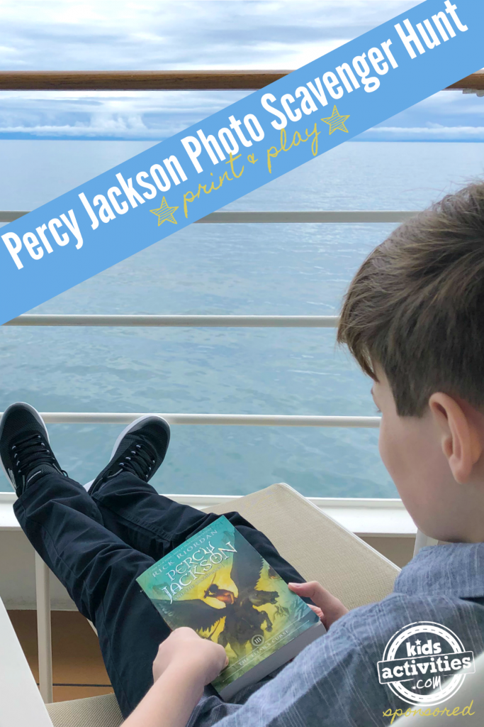 Percy Jackson Photo Scavenger Hunt blog