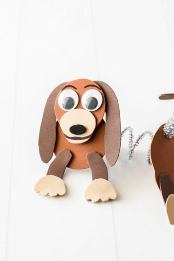 Toy Story Craft - Make Slinky Dog from Foam