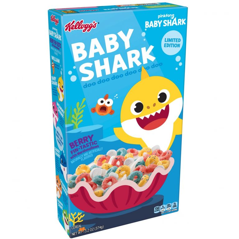 Baby Shark Cereal Is Being Released For The Most Fin-Tastic Breakfast Ever