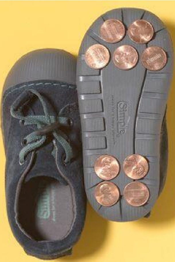 pennies glued to shoes feature image 650