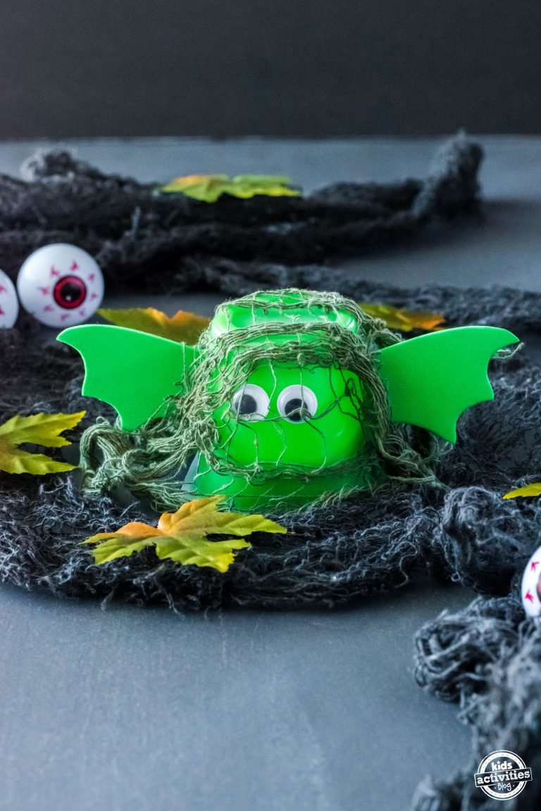 Swamp Creature Pudding Cups (With Video)