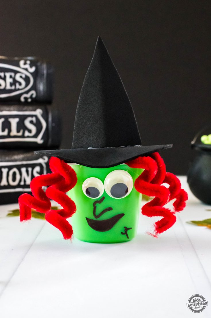 Witch Pudding Cups