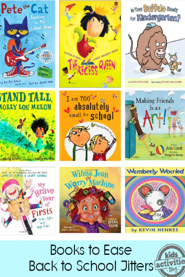 back to school books to ease jitters
