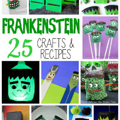 25 Monstrous Frankenstein Crafts and Recipes for Kids