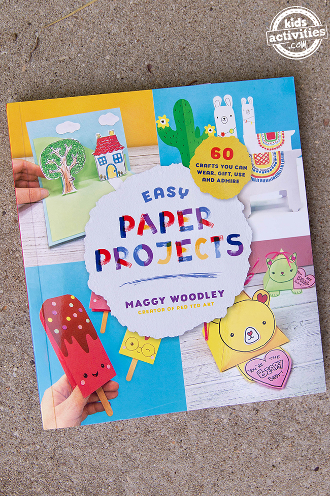 Easy Paper Projects Book by Maggy Woodley