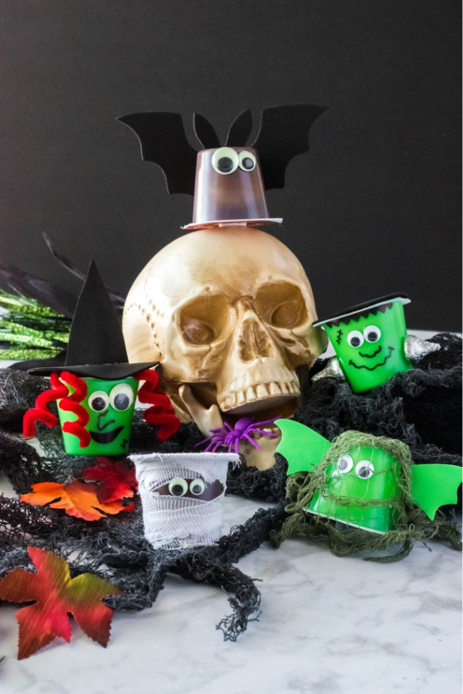 13 Spookily Delicious Halloween Pudding Cups