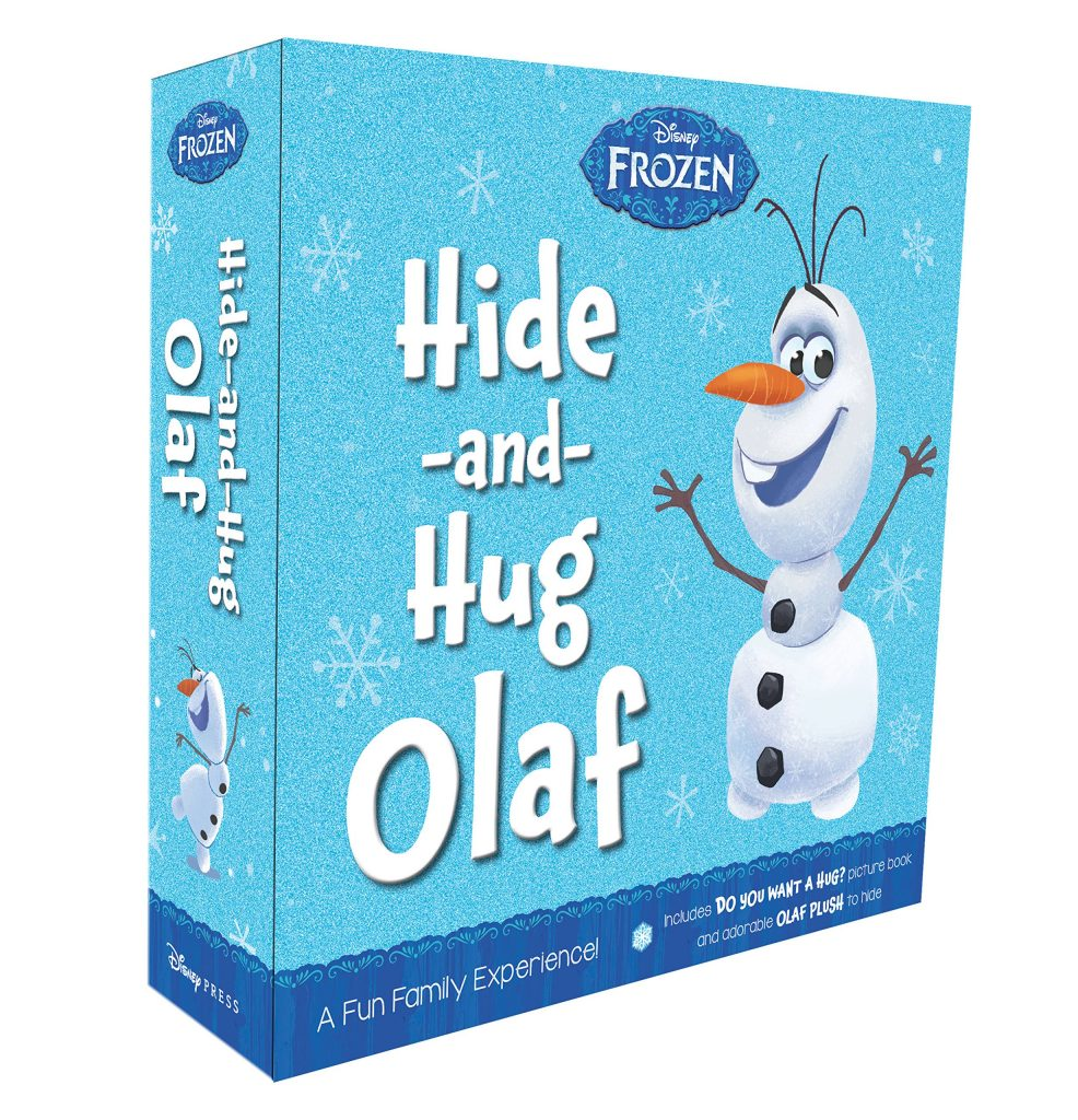 Hide and hug olaf frozen elf on the shelf plush toy