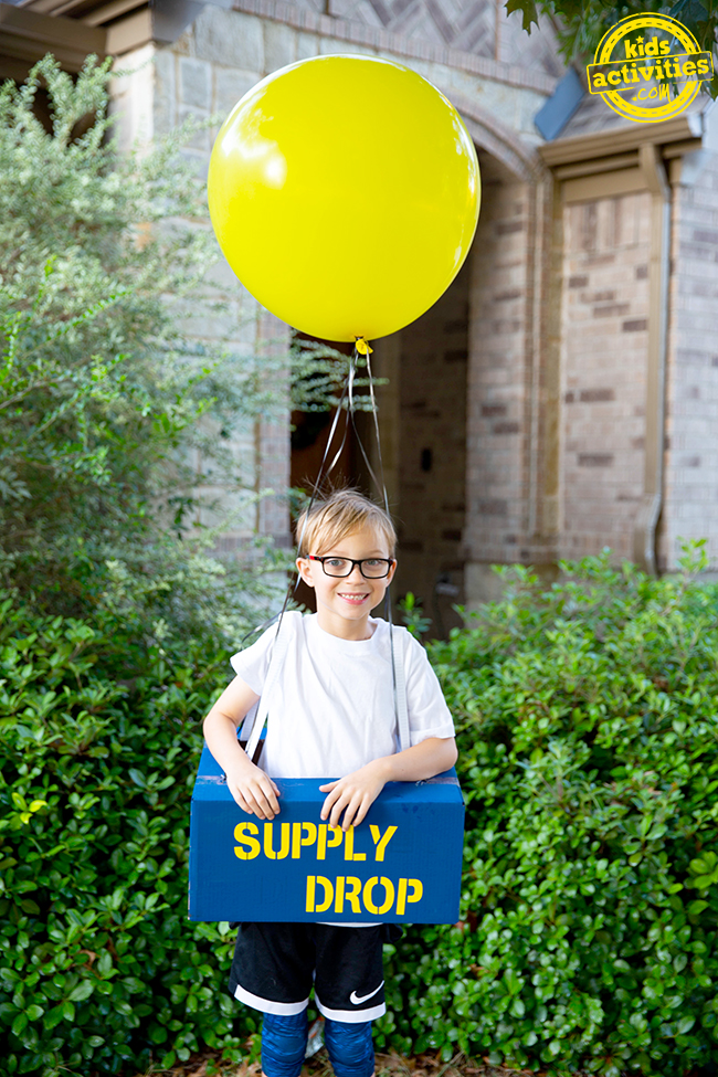 Video Game Supply Drop Costume