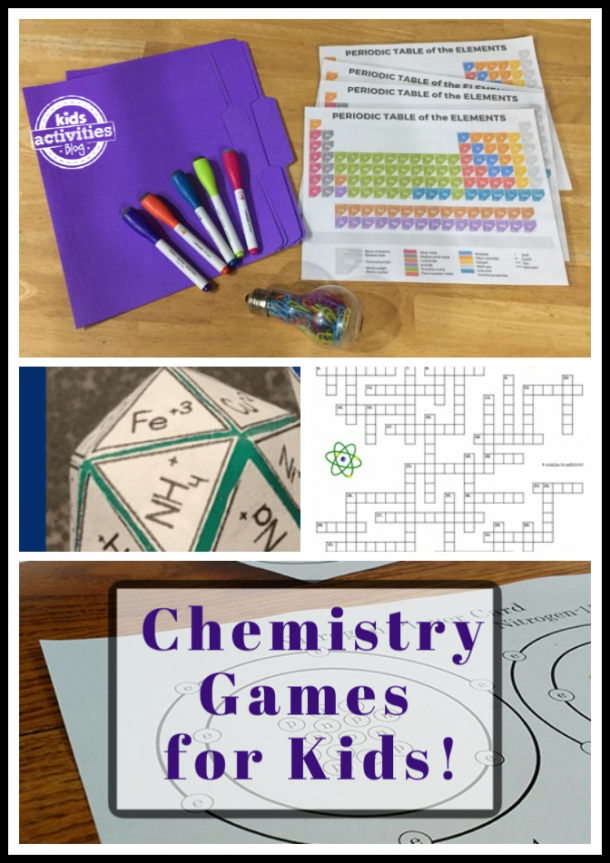 chemistry games for kids