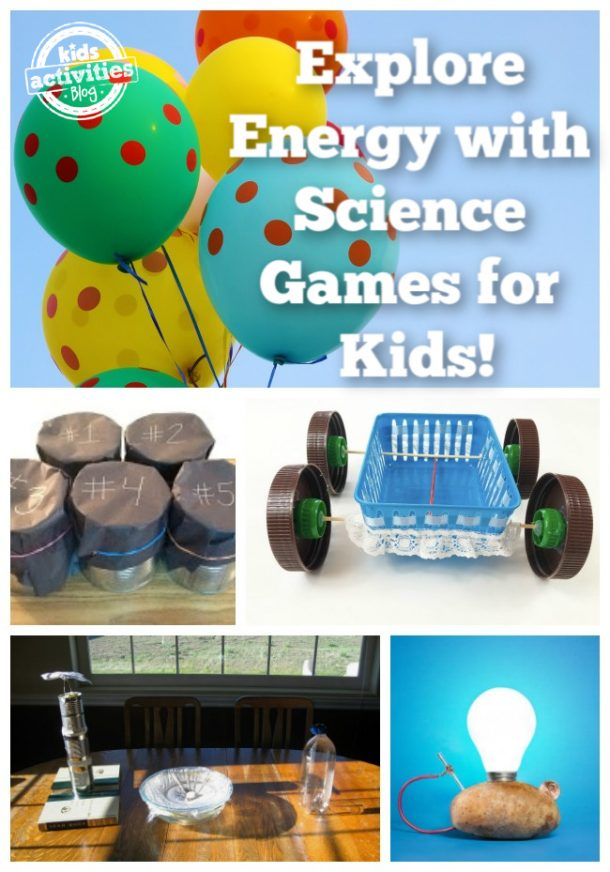 energy games for kids