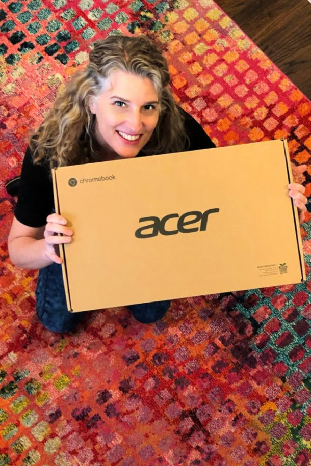 Acer Chromebook from Walmart Unboxing