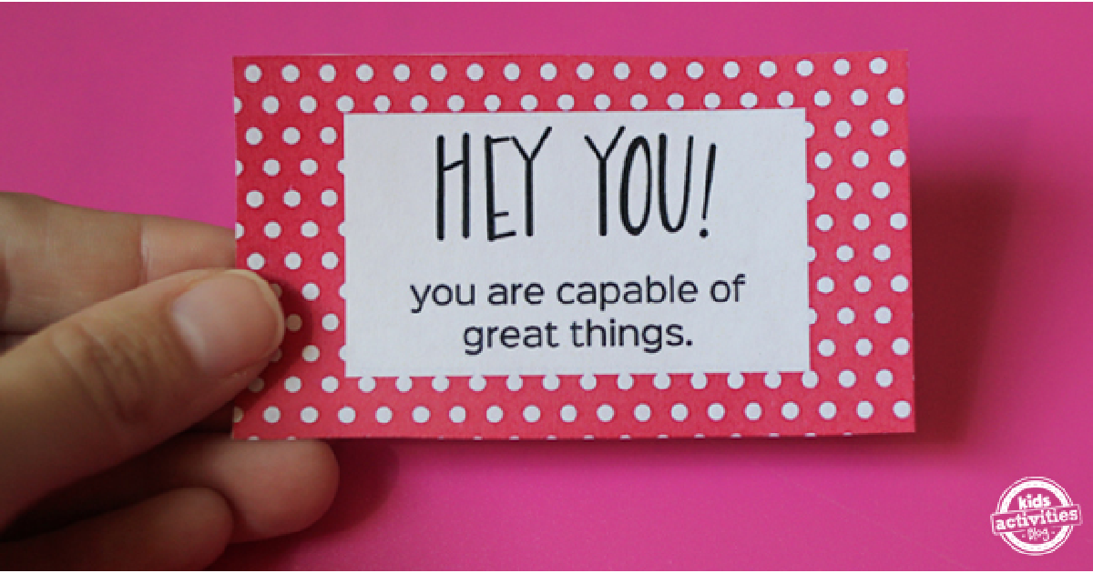 Free Printable Compliment Cards To Make People S Day Brighter