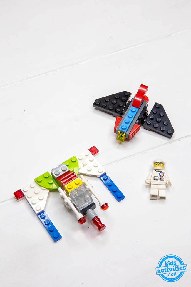 How to Make LEGO Spaceships