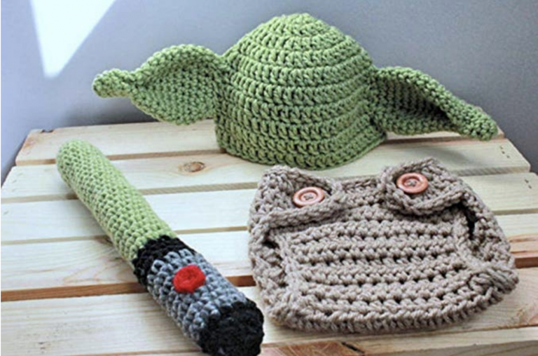 You Can Get A Baby Yoda Crochet Outfit And The Force Is Strong With This One
