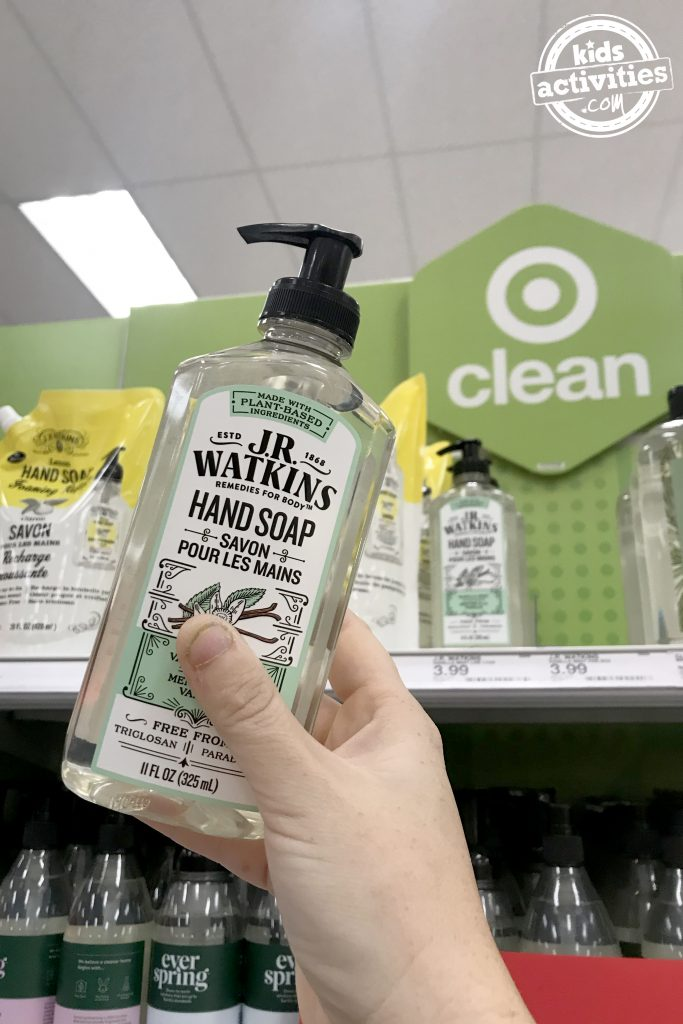 Teacher gift for 12 Days of Christmas - affordable hand soap from Target