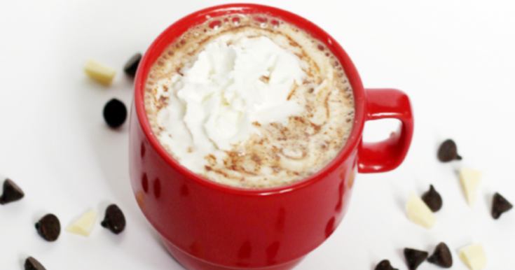 This crockpot hot chocolate is the absolute best