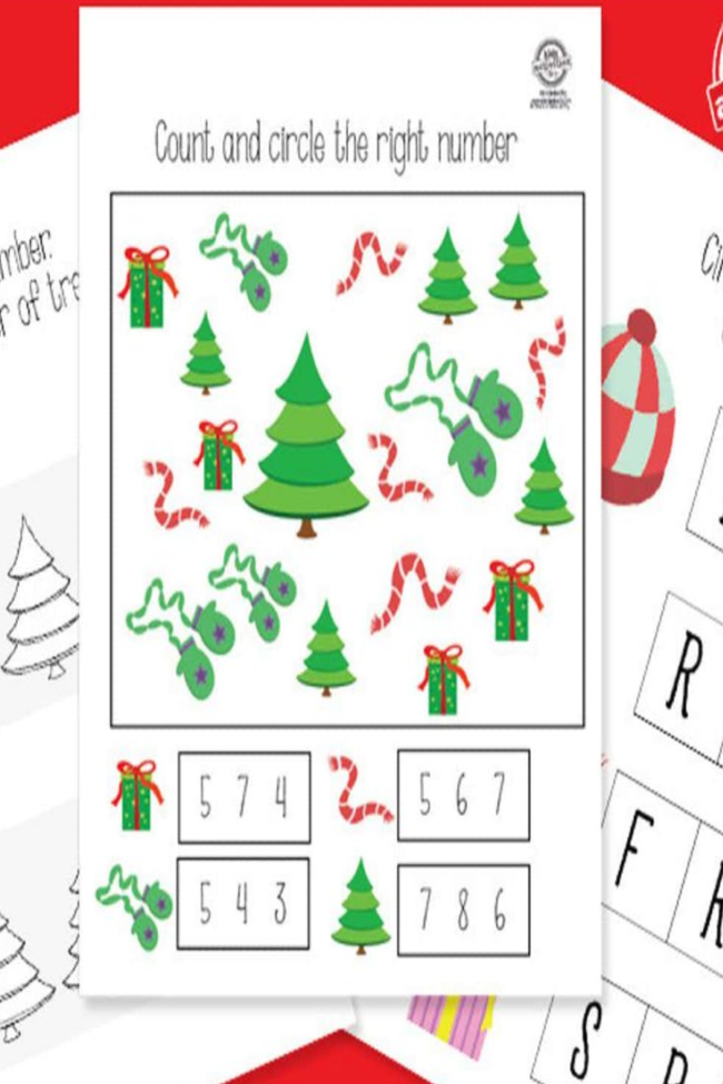 Printable Christmas Activity Packet