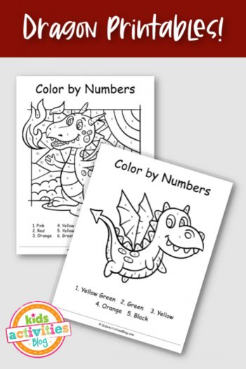 Dragon Printables!