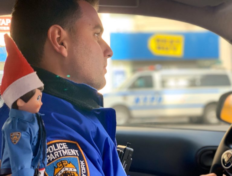 The New York City Police Department Added Elf on The Shelf To Their Squad