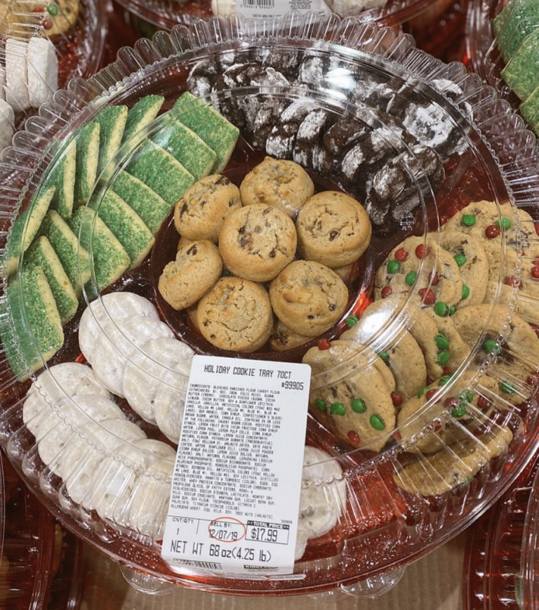 Costco Has a 70-Cookie Holiday Tray And You Will Love It