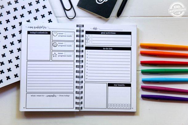 My Biggest Time Management Hack is the She Did It All Planner