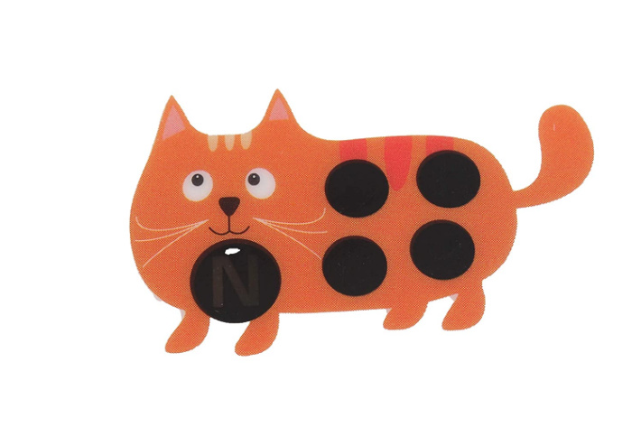 cat fever sticker from Sweetie Stick-On Fever Indicator