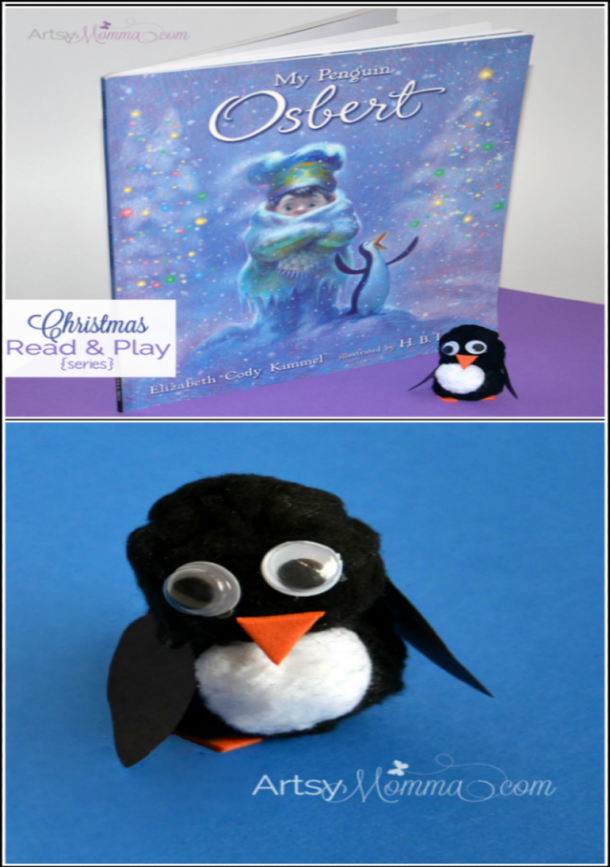 my penguin story and craft