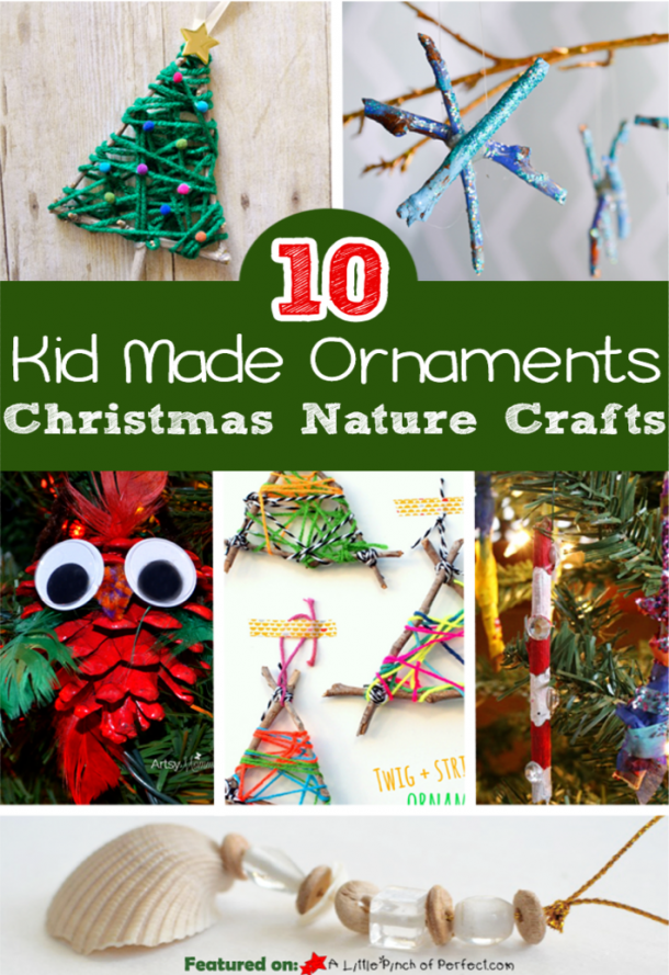 nature christmas crafts