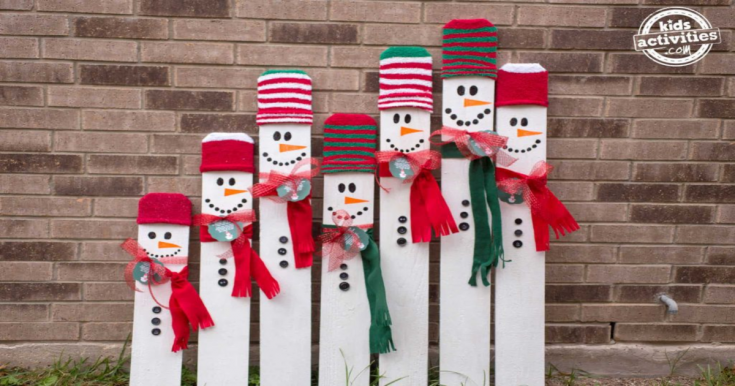 Kid-Sized Snowman Holiday Keepsake