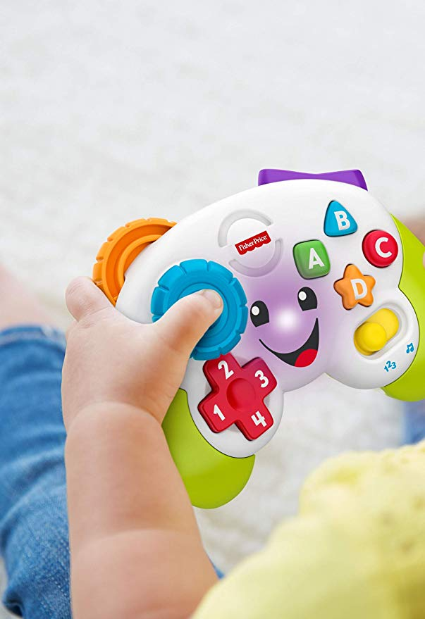 Fisher Price toy - baby game controller - with contra code
