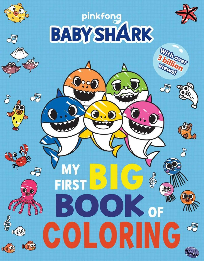 Do you kids love sharks? Baby shark coloring pages is all you want!