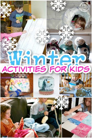 Best Winter Indoor Activities for Kids from Kids Activities Blog