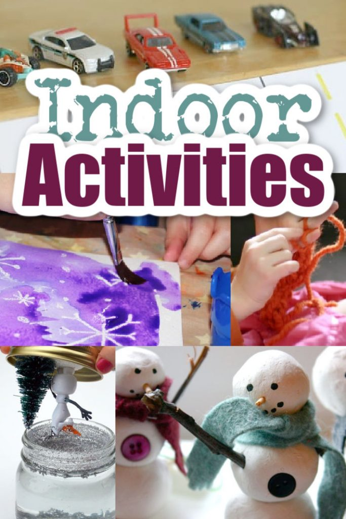 Favorite Indoor activities from Kids Activities blog