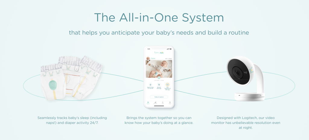 all in one baby system from pampers called Lumi