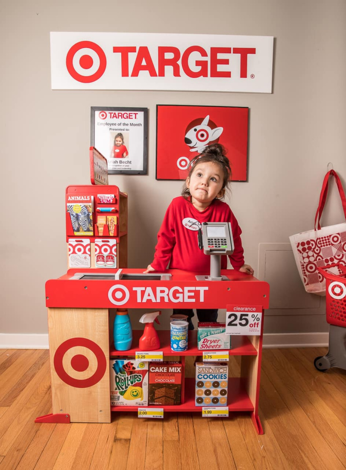 Target Playroom created by mom at home - Kids Activities Blog
