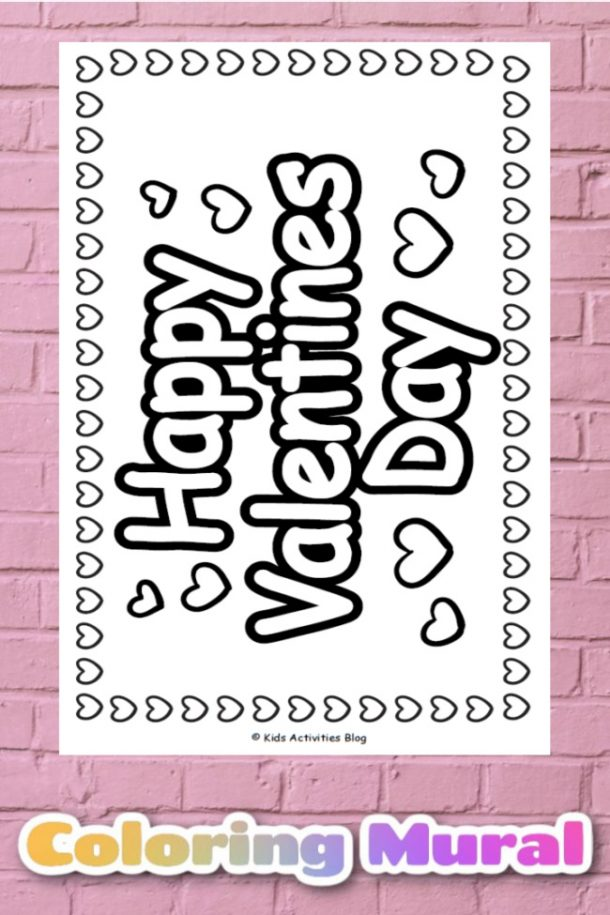 Your Kids Will Love This Free Giant Valentine's Day Poster