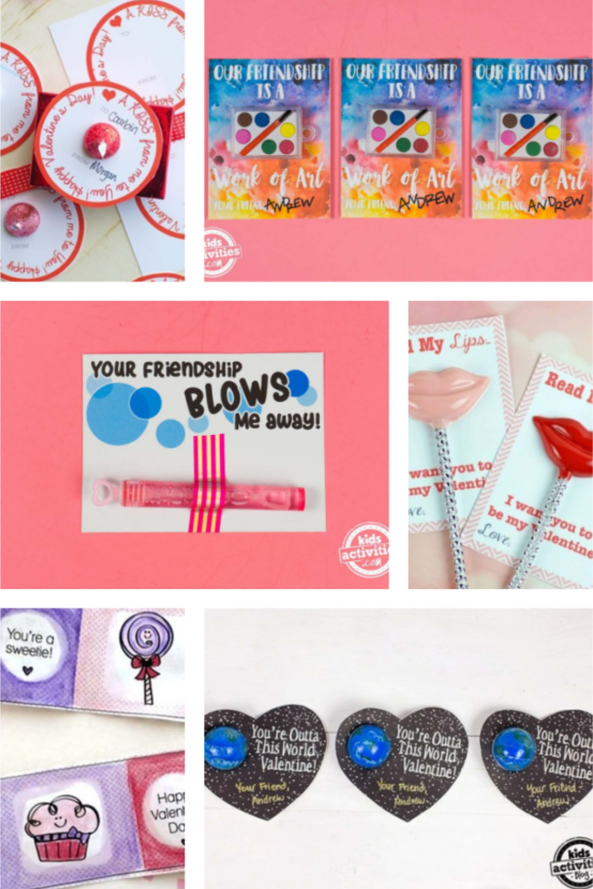 Valentine Cards You Can Print At Home And Bring To School