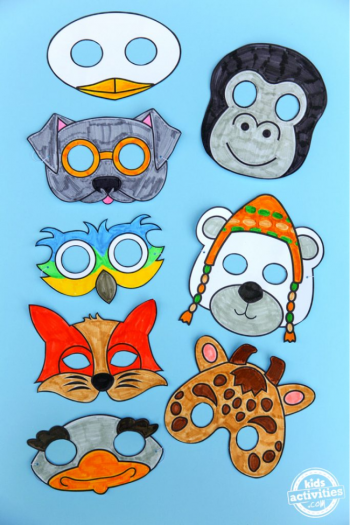 Dolittle inspired masks