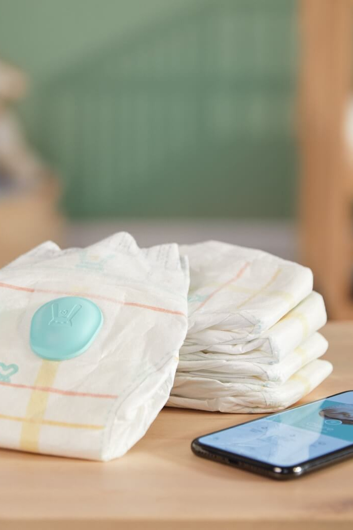 Pampers Has An App That Notifies You When Your Baby Has a Dirty Diaper!