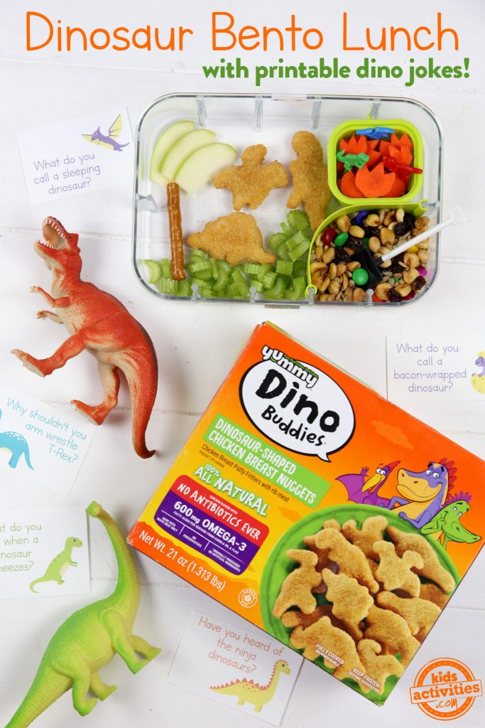 Dinosaur Bento Lunch