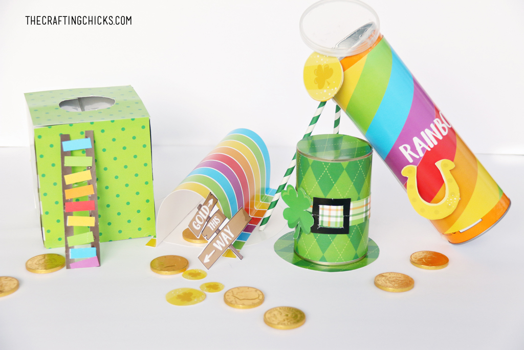 Leprechaun Trap Printable Projects from The Crafting Chicks