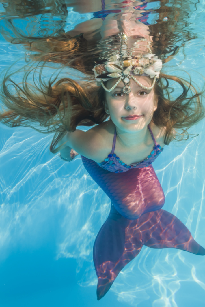 You Can Get A Mermaid Tail For Kids and I'm Swimming With Joy