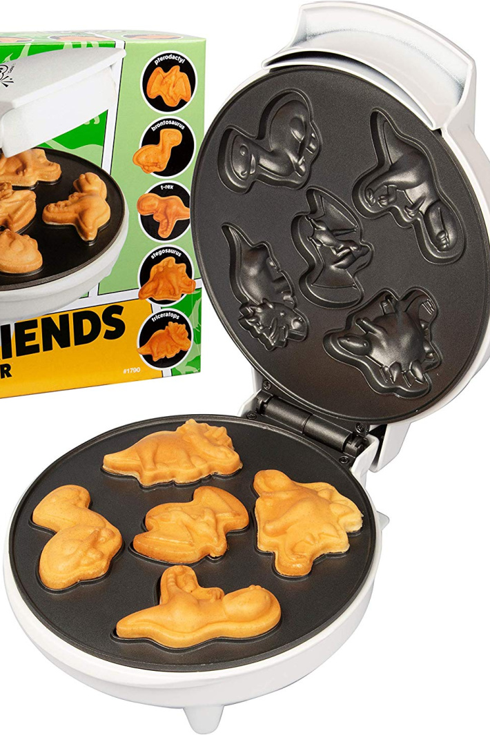You Can Get A Mini Dinosaur Waffle Maker For A Breakfast That's Worth Roaring Over