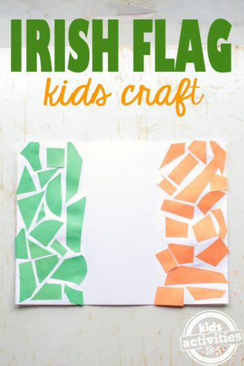 Kids Irish Flag Craft - Kids Activities Blog
