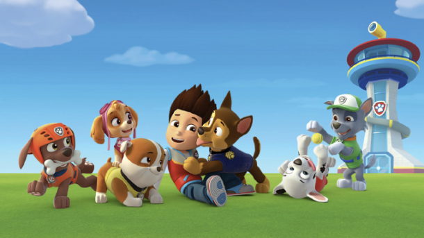 Paw patrol toys for Easter baskets