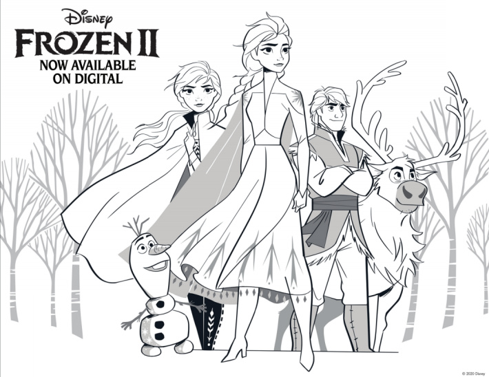 7 Free Disney Frozen Coloring Pages You Can Print Kids Activities Blog