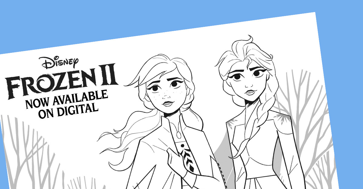 - Frozen Coloring Pages Featuring New Characters From Frozen 2!