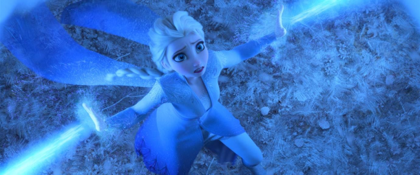 princess elsa in frozen 2
